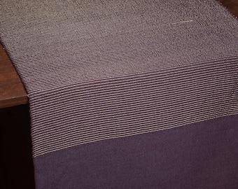 Table Runner Purple OOAK