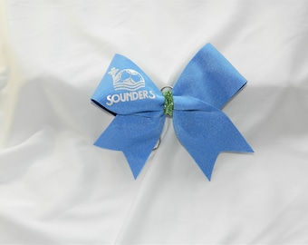 Seattle Sounders Bow Keychain