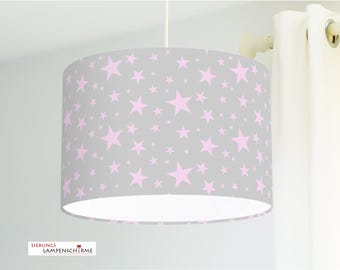Lampshade - stars - 35cm - desired color and size on request