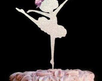 Ballerina Cake Topper, Cake Decoration, Ballet Cake Topper, Dancer,  Ballet Birthday Party, Dance Birthday