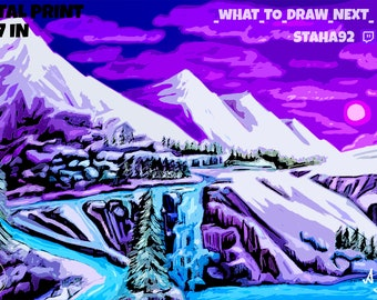 The Snowy Mountains by Adam Staha