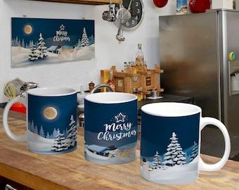 Christmas Digital Template Mug 7