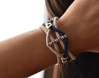 Cuerdas Cork Bracelet