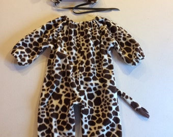 Giraffe costume kids toddler costume
