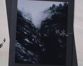 Landscape Photo Card - Mountains - Big Four Mountain