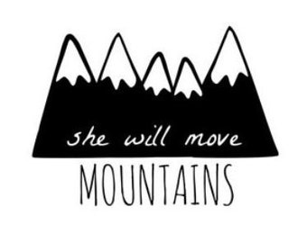 mountain baby blanket, mountain baby shower, mountain baby bedding, mountain nursery, woodland mountain baby blanket, woodland nursery