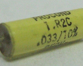 Capacitor 33nF 10% 250V, polyester