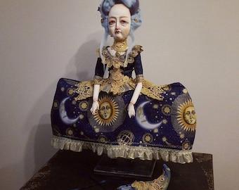 Venezia art doll 21 inches