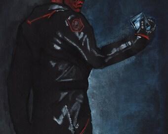 Red Skull 11X17 Art Print