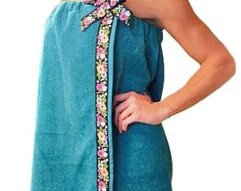 Plus Size Towel Wrap - Gift For Mom - Gift For Mom - Beach Towel Wrap - Spa Wrap - Bath Wrap - Bath Towel Wrap - Towel Wrap