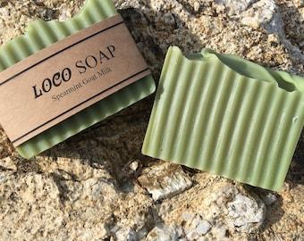 Spearmint Goat Milk - Handmade Cold Processed Soap