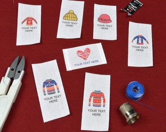 Personalized Sewing Tags