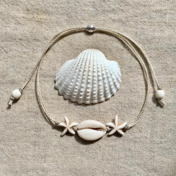 mermaid jewelry, beach anklet, beachcomber beach boho