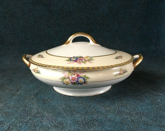 Vintage Noritake Juanita Round Covered Vegetable Bowl