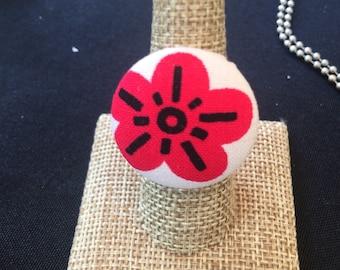 Flower Power Statement Ring