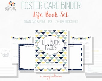 Foster Care Adoption Life Book . 75+ Pages! .  8.5x11 . PRINTABLE . DIGITAL DOWNLOAD . You Are My Sunshine Series