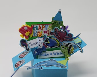 Swimming for a Special Birthday Pop Up