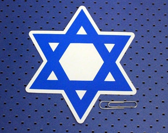Star of David Bumper Sticker