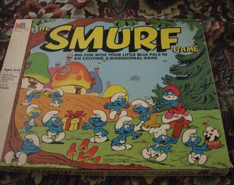 1981 MB The Smurf Game