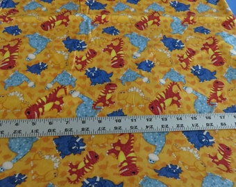 Have You Seen My Dinosaur cotton fabric by Jennifer Pugh for Wilmington Prints - sold by the yard