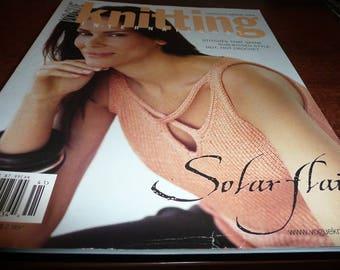 Vogue Knitting International Magazine Spring Summer 2004