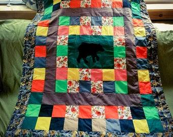 Bear Toddler Quilt