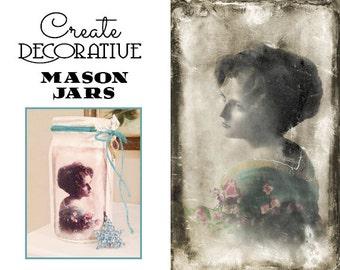 Decoupage Instant Download Vintage Woman Digital Download Commercial Use Digital Graphics Paper