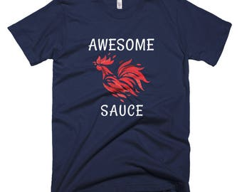 Awesome sauce chicken Short-Sleeve T-Shirt