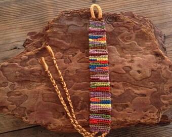 Friendship Bracelet colorful
