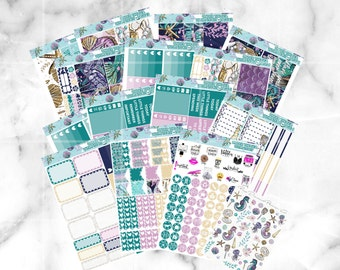 Under the Sea // Ultimate Weekly Planner Kit (500+ Planner Stickers)