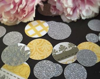 Sunshine and Glitter | Confetti | Party | Bridal | Wedding | Birthday | The spring bride | Sunshine centerpiece | Sunshine Decor