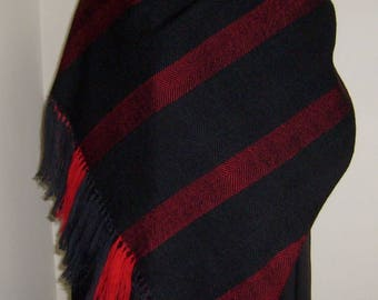 Made to Order Wool Shawl, Very Soft Feel Hand Woven Wrap, Custom Wrap, Bespoke Shawl