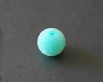 Pearl effect sugar color aqua 15 mm