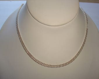 Beautiful Sterling Necklace Curb Style Chain