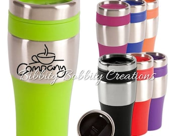 Monogrammed Customized 16 oz. Insulated Tumbler, Coffee Mug, Travel Mug