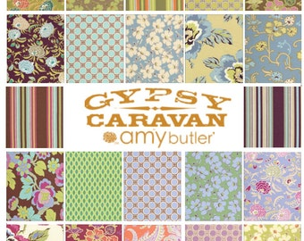 Amy Butler GYPSY CARAVAN Fat Quarter set of 22