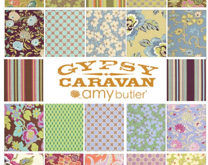 Amy Butler GYPSY CARAVAN Fat Quarter set of 22