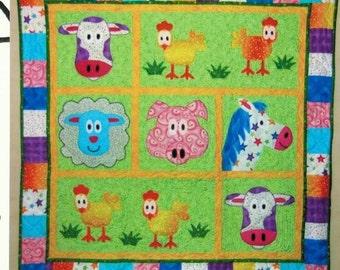 Jacob's Funny Farm - quilt pattern