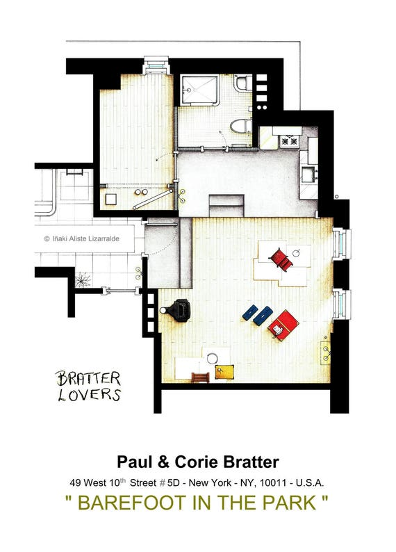 Almost empty apartment from barefoot in the park te gusta este artculo malvernweather Images