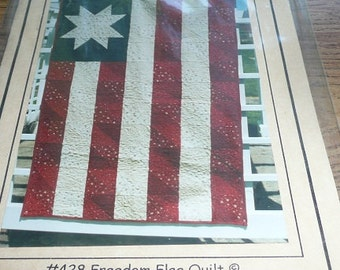 Pearl Louise Designs Freedom Flag Quilt Pattern