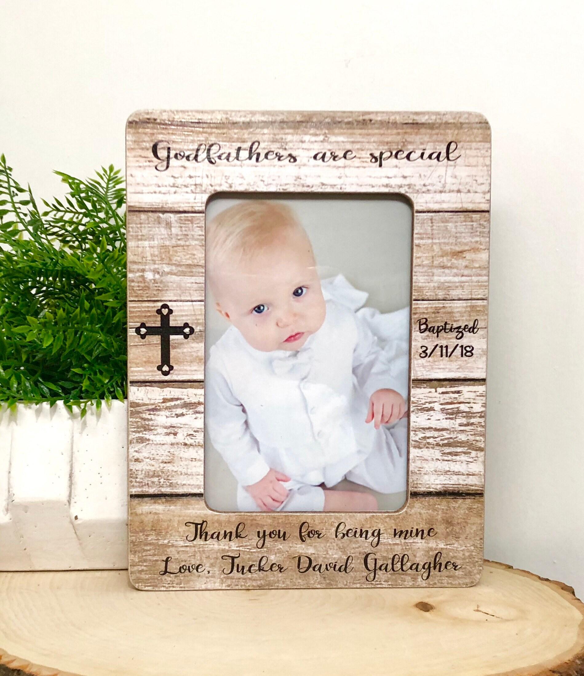 Baptism Frame• Gift For Godfather• Godfather Frame• Godfathers Are ...
