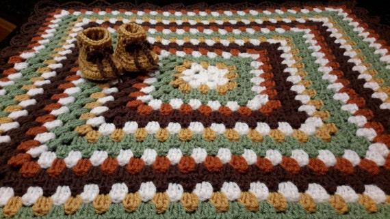 Lion King Theme Jungle Crochet Baby Blanket Crochet gift