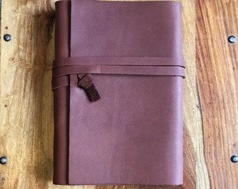 Handmade Leather Journal - #43
