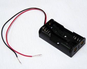 2 x AA Battery 3V Battery Holder Box, Set of 3pcs, PT001