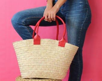 straw bag/straw handbag/vintage/tote bag/boho/personalized gift/handmade/gift/cross body bag/boho clothing/beach/basket/handbag