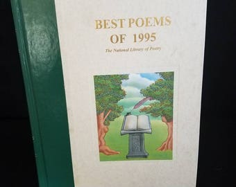Best poems of 1995- The National Library of Poems*Good Condition* Free Ship*