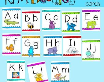 KPM Alphabet Cards Printables