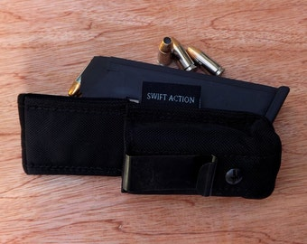 IWB Mag Pouch Size 6- Fits Glock 21, 30, 41, FNH FNX45, and Others. See description for details.