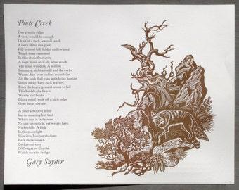 Gary Snyder: Piute Creek