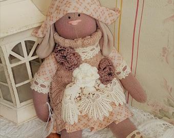 Tilda - handmade doll - textile doll - toys - shabby chic - cloth doll - Easter